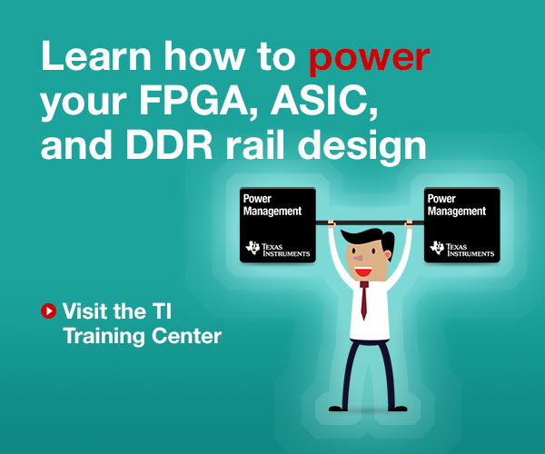 Learn how to power your FPGA, ASIC, and DDR rail design