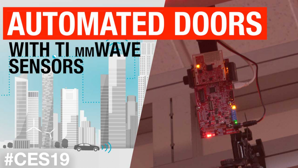 Automated doors with mmWave