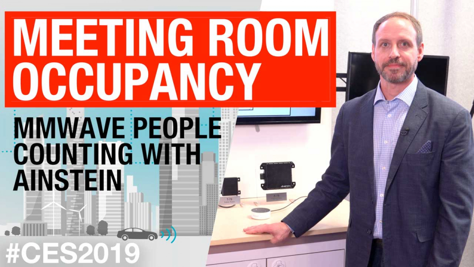 Meeting room occupancy: mmWave people counting with Ainstein