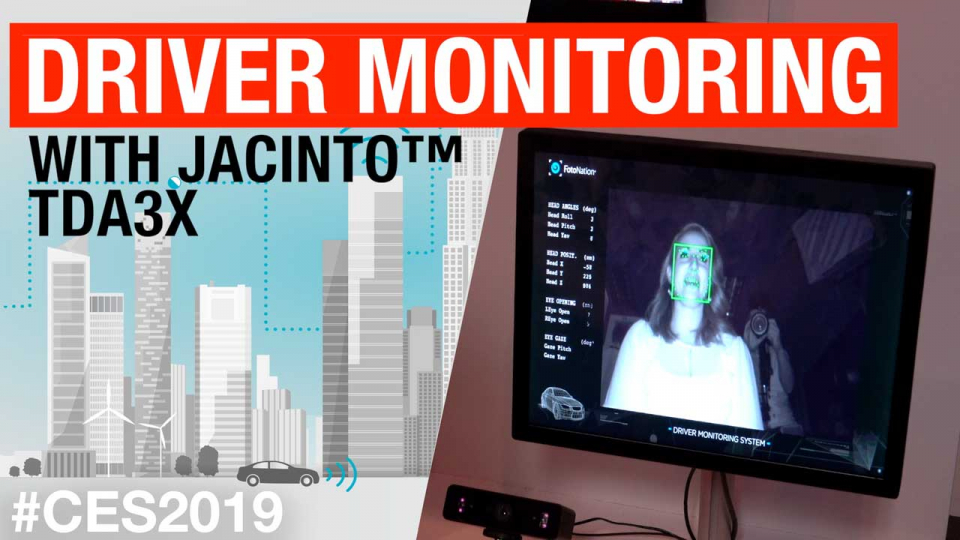 Driver monitoring with Jacinto™ TDA3X