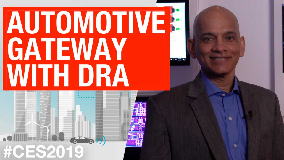 Automotive Gateway with DRA
