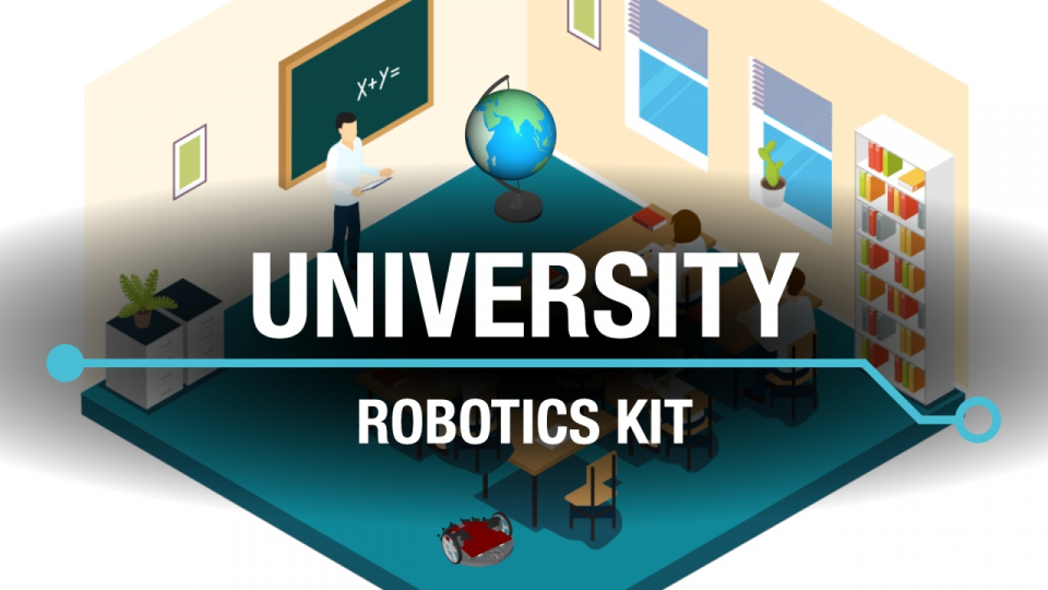 Learn, build and compete with the TI Robotics System Learning Kit.