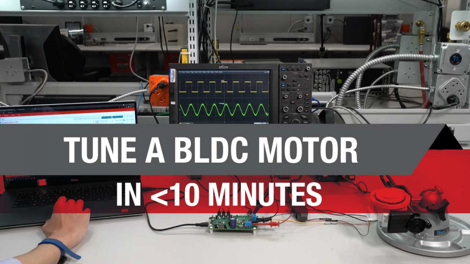 Tune a BLDC motor in less than 10 minutes