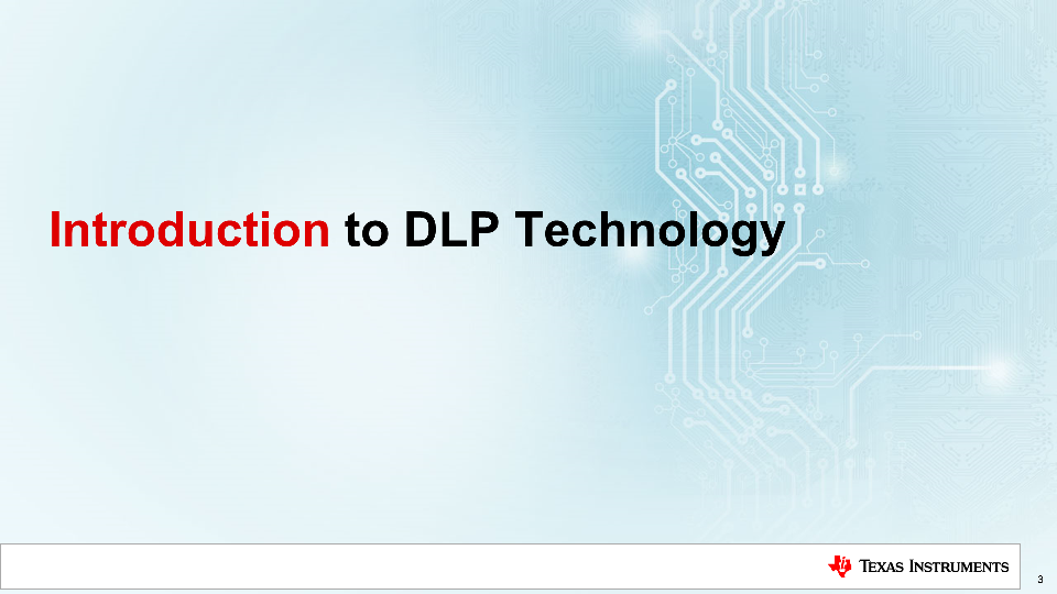 DLP technology introduction getting started DMD digital micromirror device