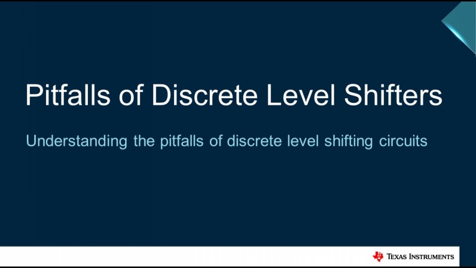 Pitfalls of Discrete Push-Pull Level Shifting