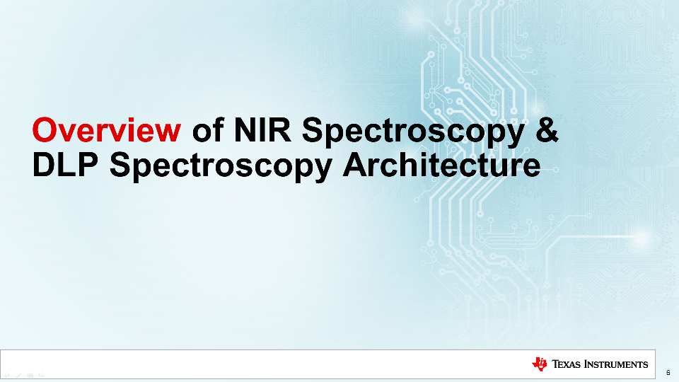 DLP technology spectroscopy architecture