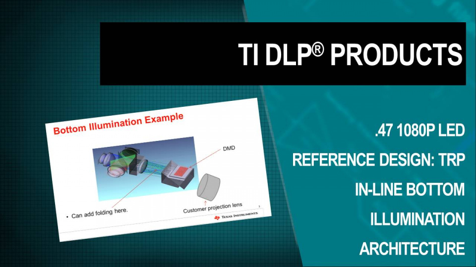 DLP optical reference design