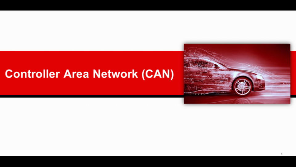 Controller Area Network (CAN) overview