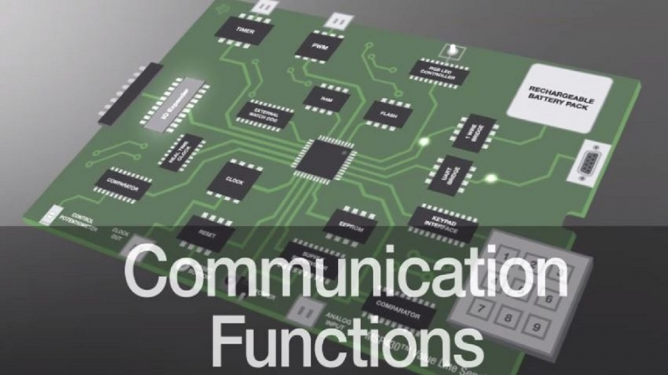 Communication function enhancement using MSP430 value line sensing MCUs