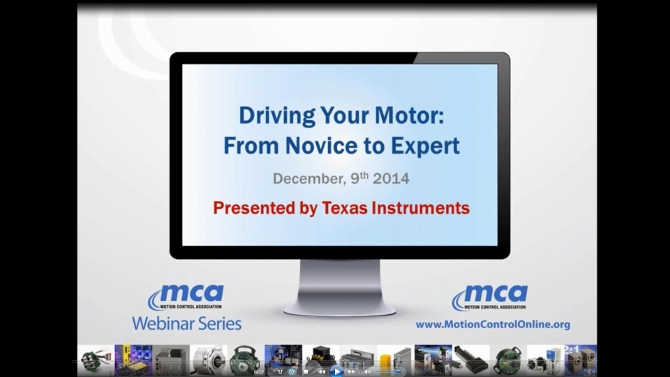 Driving Your Motor: From Novice to Expert