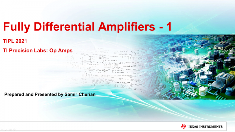 Introduction to FDAs and Differential Signaling