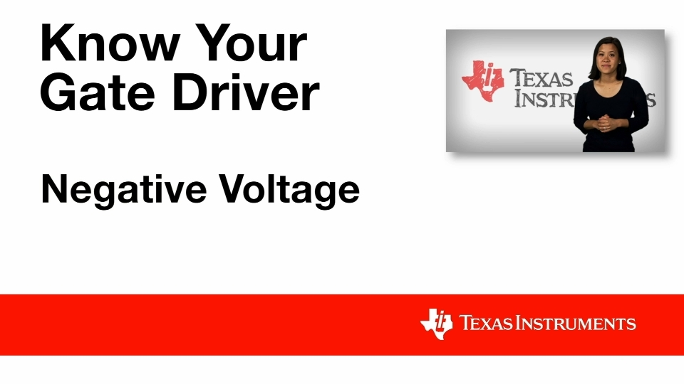 Gate Driver ic_Negative Voltage Handling