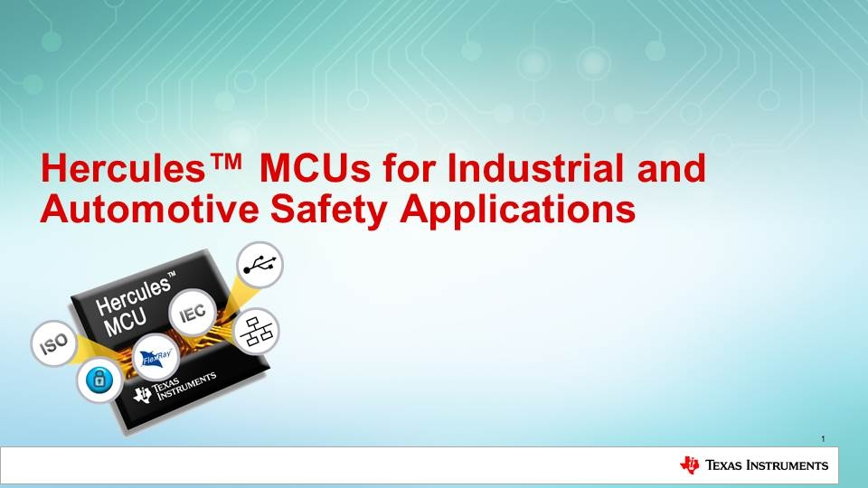 Hercules for Industrial and Automotive Safety
