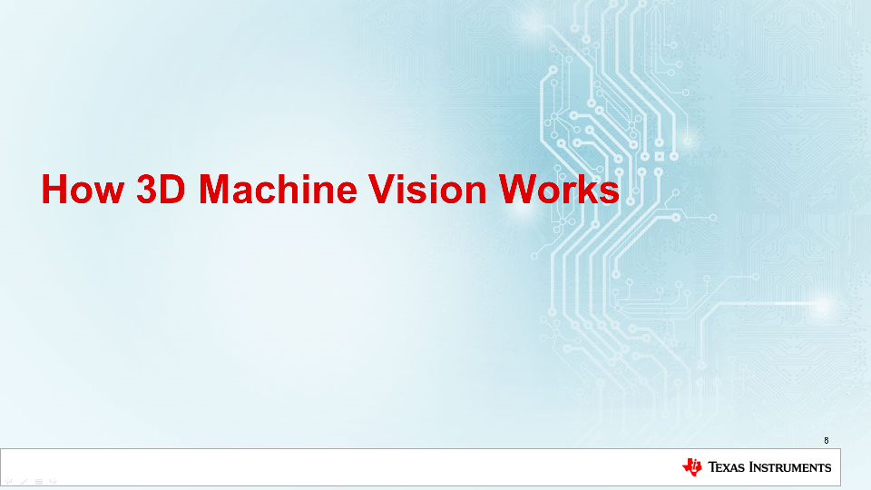 DLP 3D machine vision