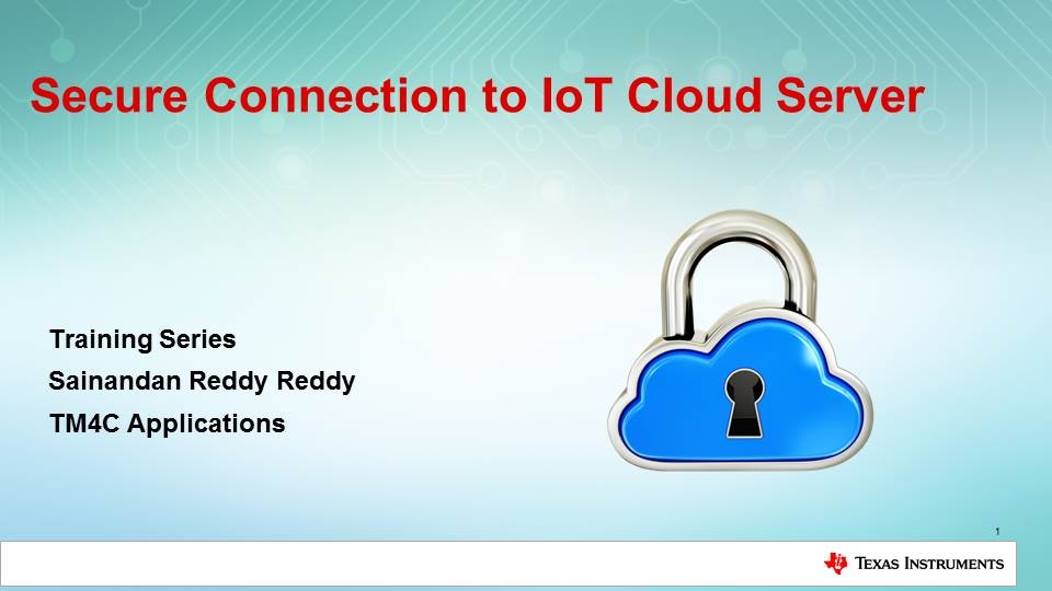IoT Secure Connection Training Series