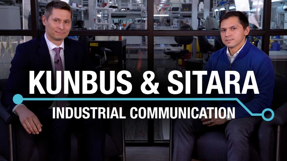Kunbus partnership industrial Ethernet protocols