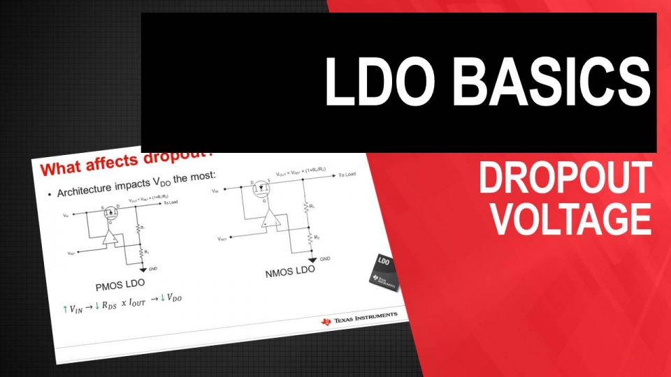 LDO Basic Series: Dropout Voltage
