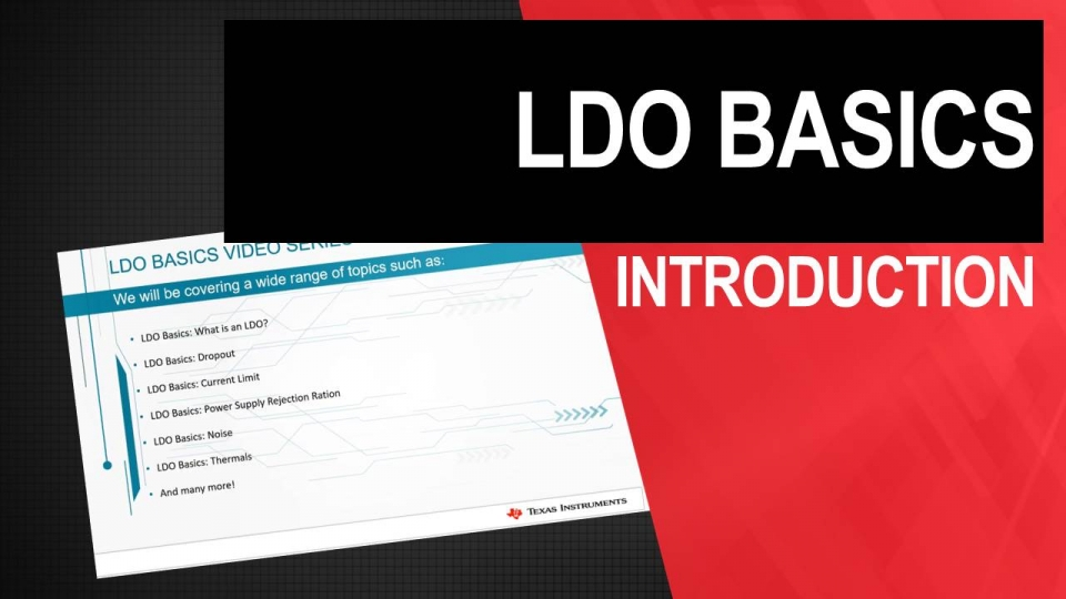 Introduction to LDO Basics