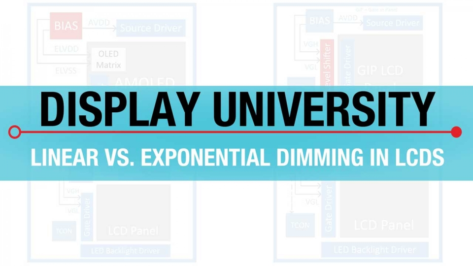 Linear vs. Exponential Dimming in LCDs Training Video