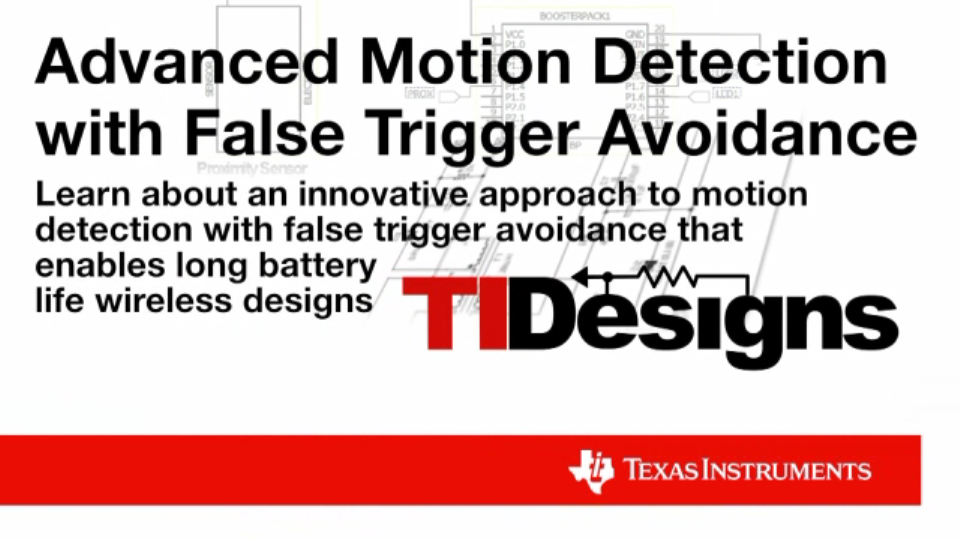 Motion Detector Design Demo Thumbnail