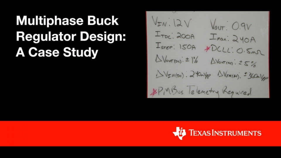 A Case Study in Multiphase Buck Regulator Design