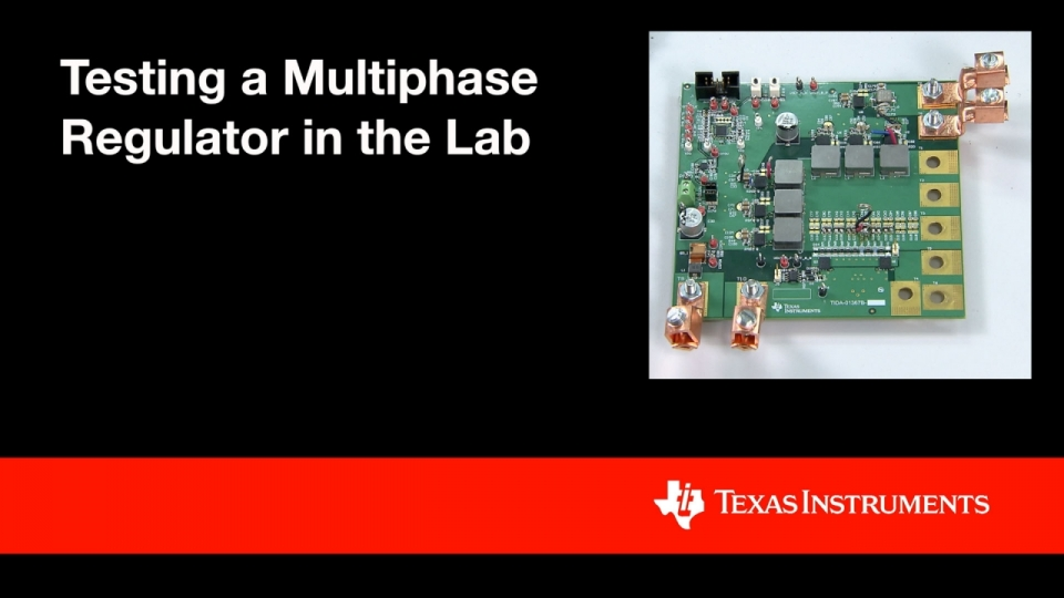 Testing a Multiphase Regulator in the Lab