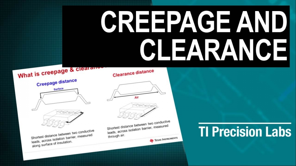Digital isolaton: Creepage and clearance