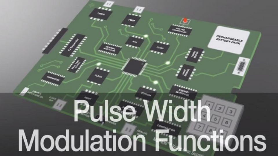 Pulse width modulation (PWM) function enhancement using MSP430 value line sensing MCUs