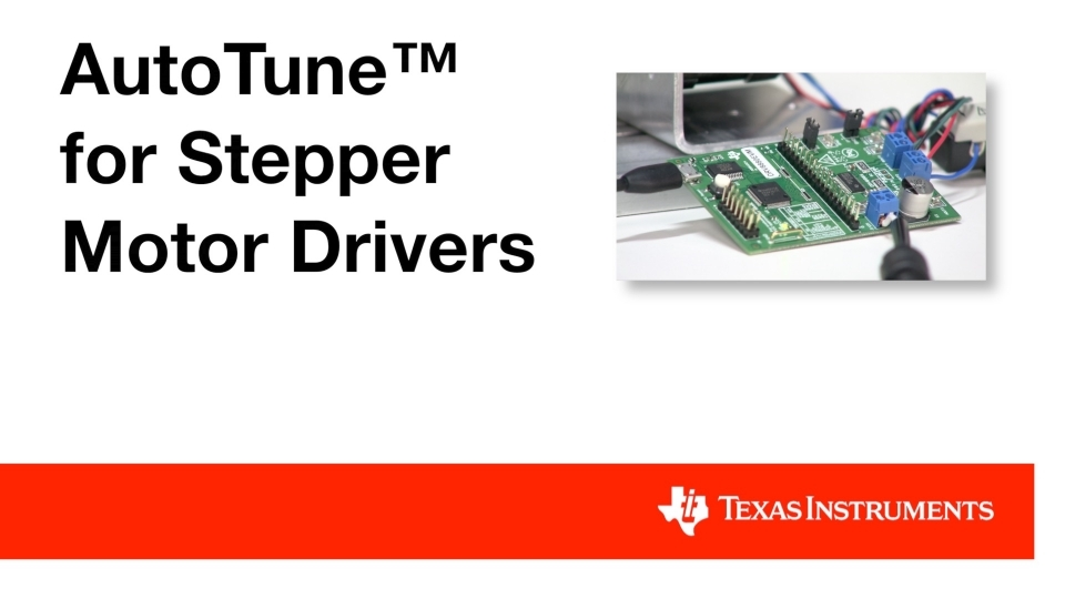 How to automatically tune your stepper motor