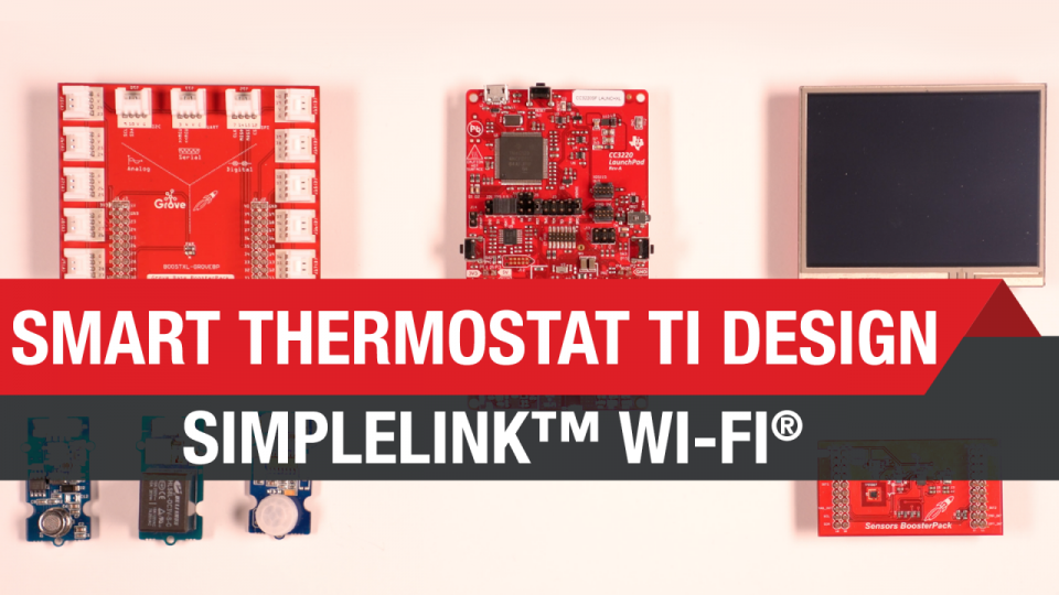 Smart Thermostat TI Deisgn