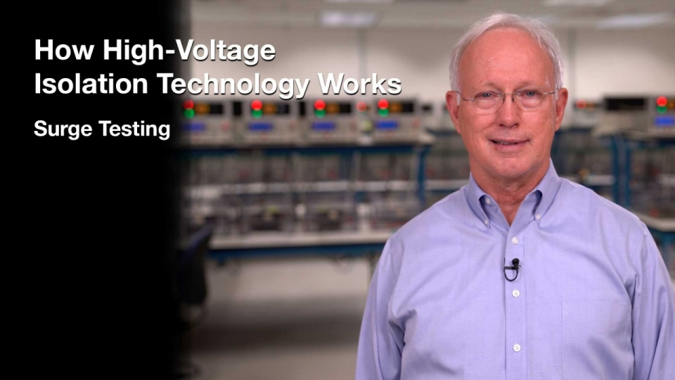 How High-Voltage Isolation Technology Works –Surge Testing