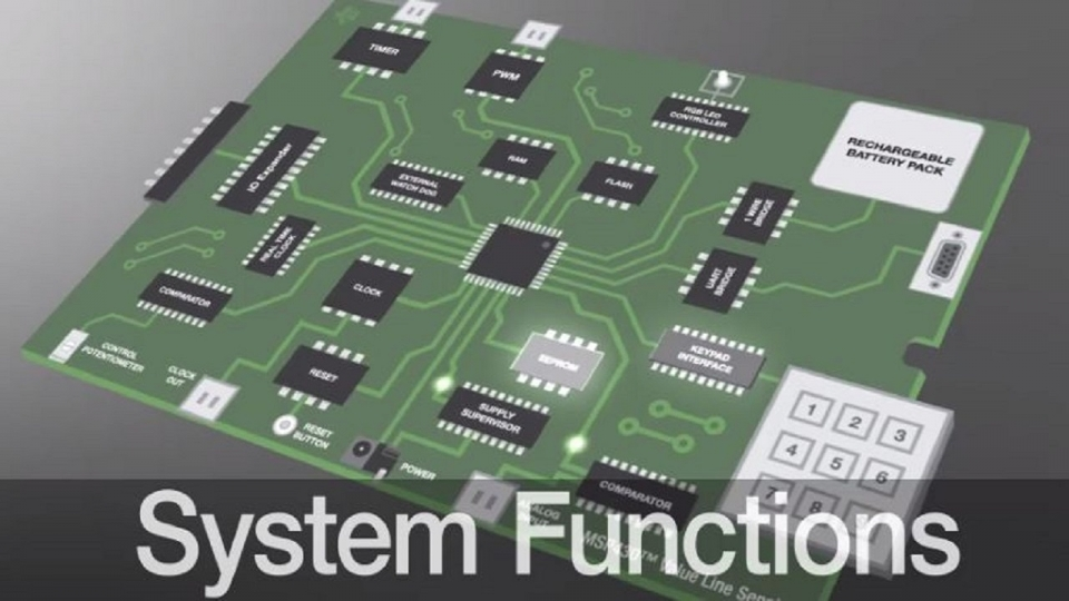 System and housekeeping function enhancement using MSP430 value line MCUs