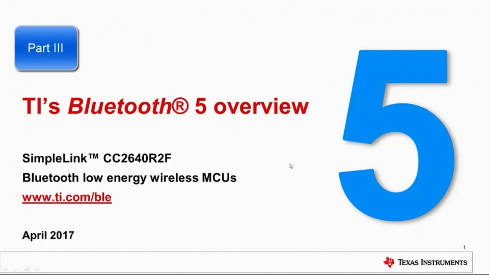 Bluetooth 5 overview