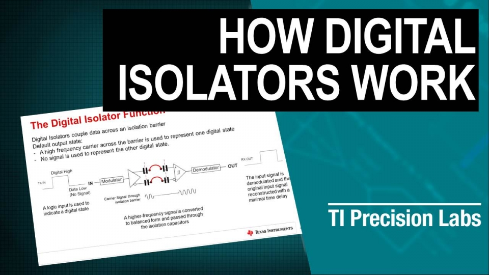 How digital isolators work