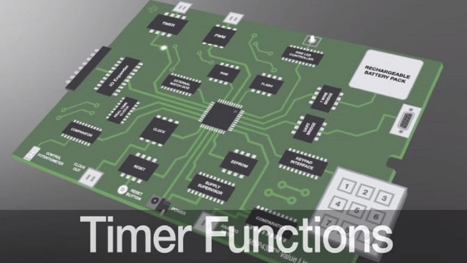 Timer function enhancement using MSP430 value line MCUs