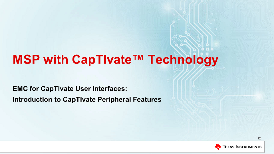 What are the Noise Immunity Features of CapTIvate MCUs?