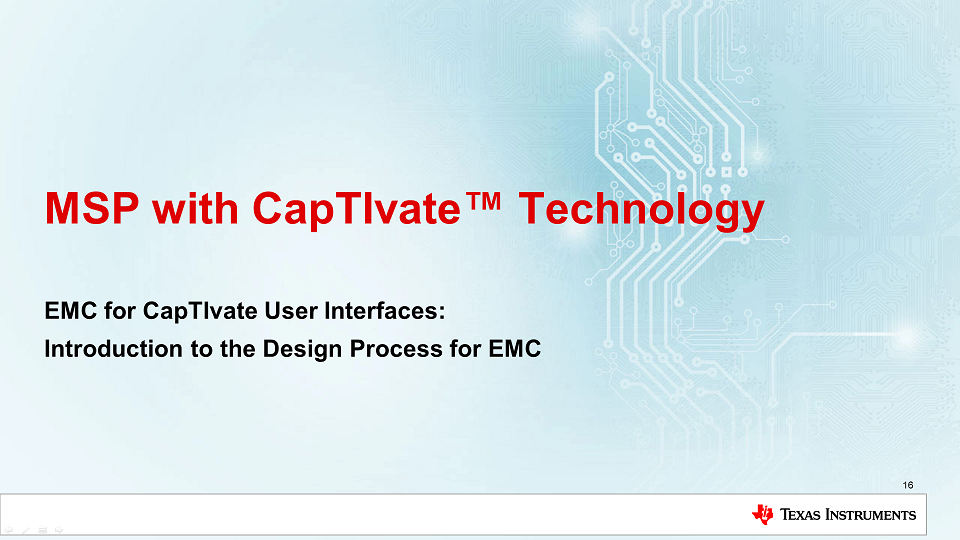 How do I Design Capacitive Touch Interfaces with EMC in Mind?
