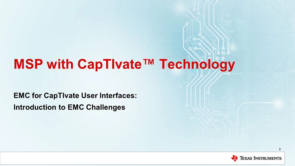 What are Common EMC Challenges with Capacitive Touch Designs?