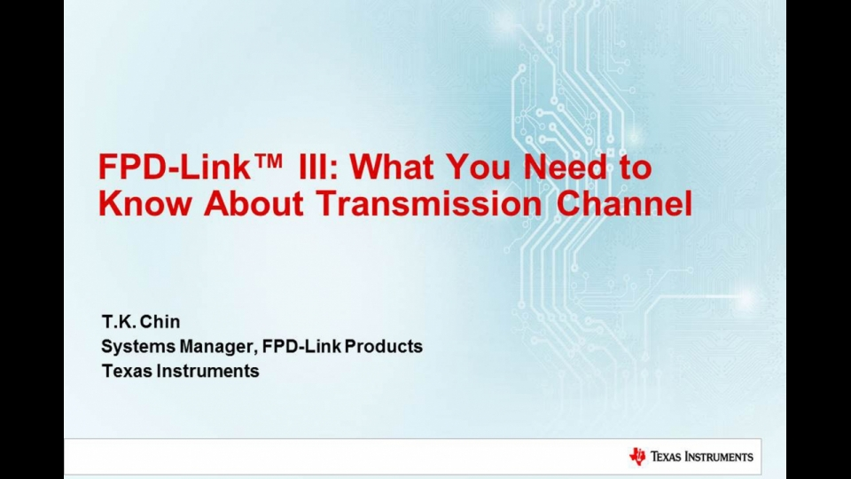 What you need to know about Transmission Channel