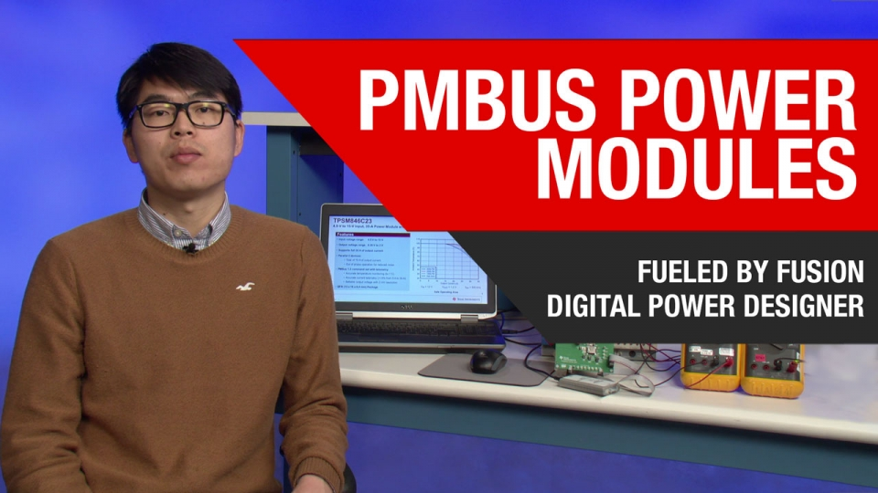Configuring TI's first PMBus power module