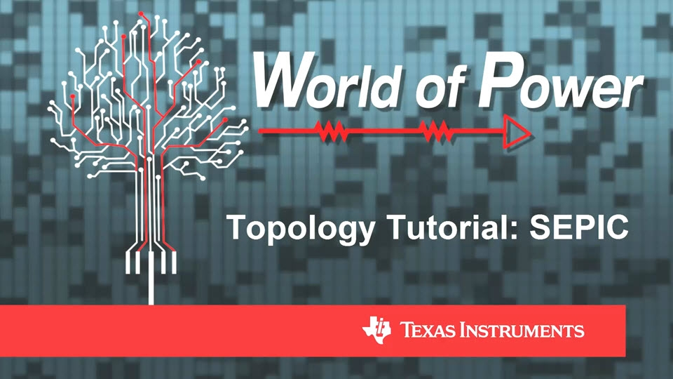 Topology Tutorial: SEPIC