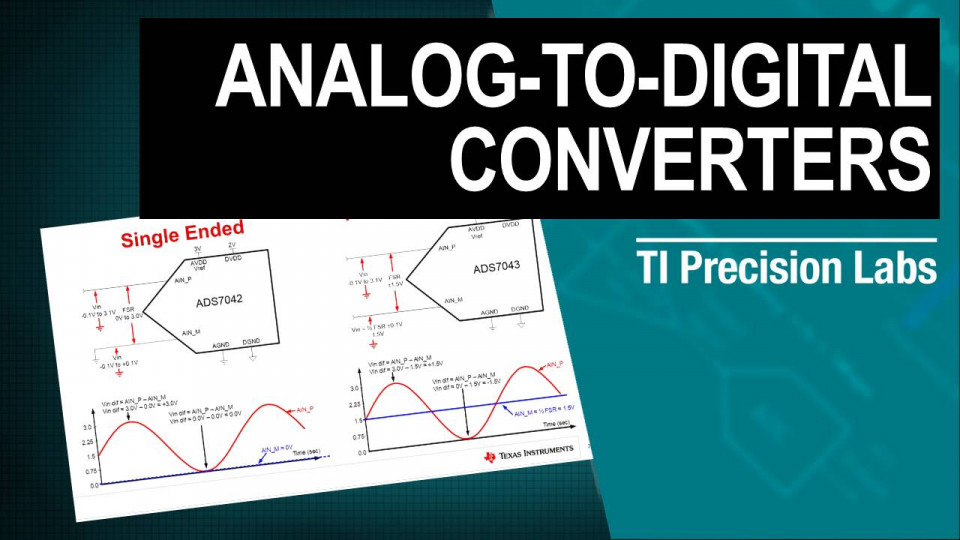 Analog-to-Digital Converters (ADCs) TI Precision Labs