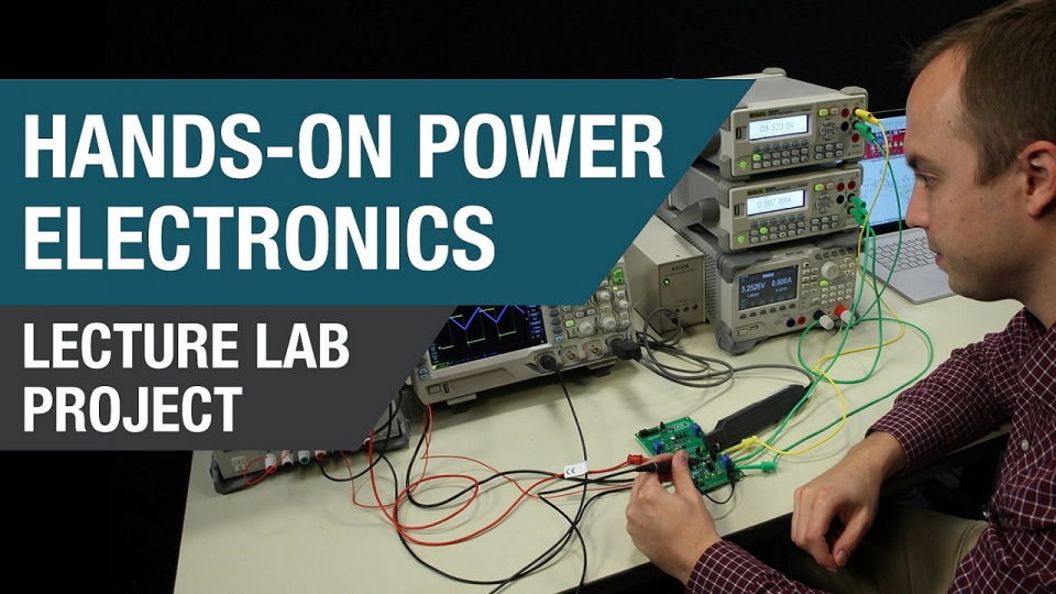 Lab Capacitor equivalent series resistance (ESR) and output voltage ripple power electronics