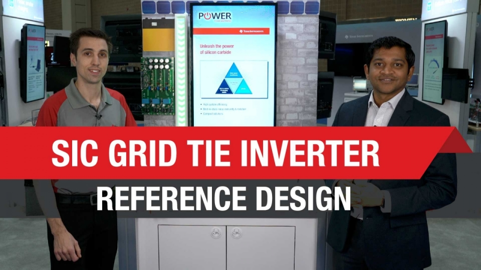 10kW 3-Phase 3-Level SiC Grid Tie Inverter Reference Design