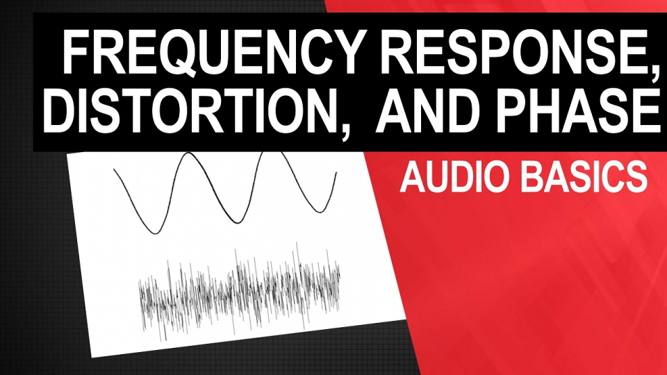 Audio Distortion Frequency response, Phase