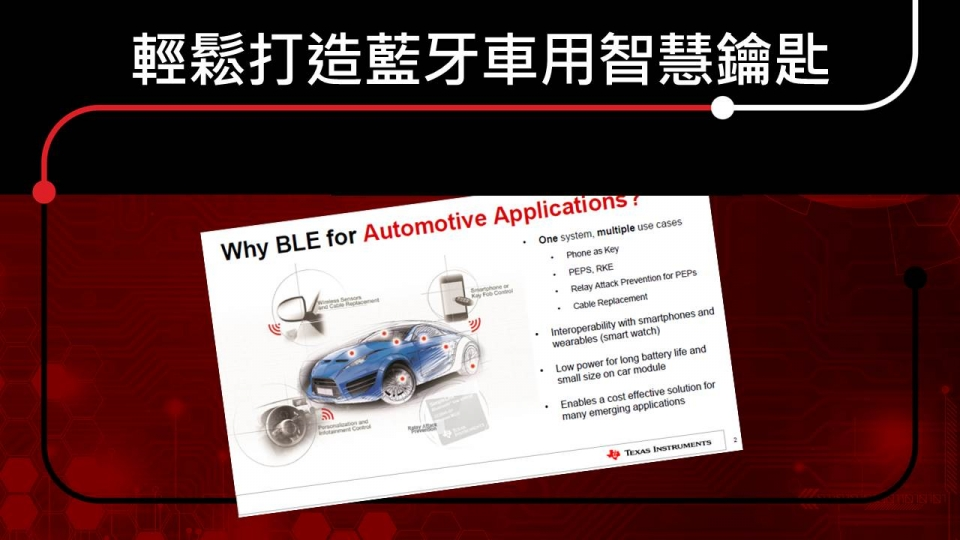 Easy-build on Automotive PEPS
