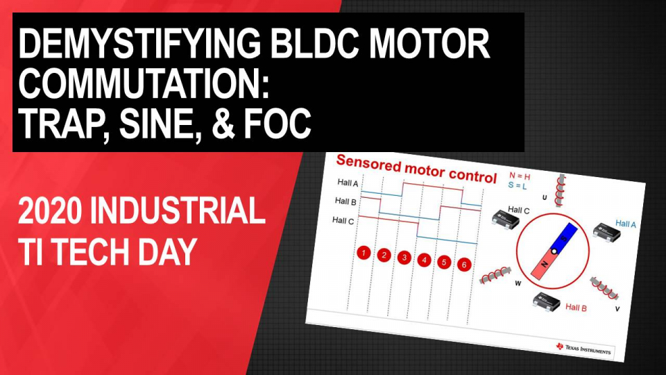 Demystifying BLDC motor commutation: Trap, Sine, & FOC