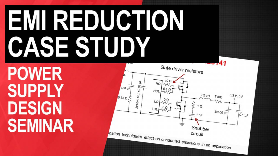 EMI reduction case study