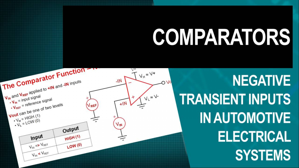 comparators training video