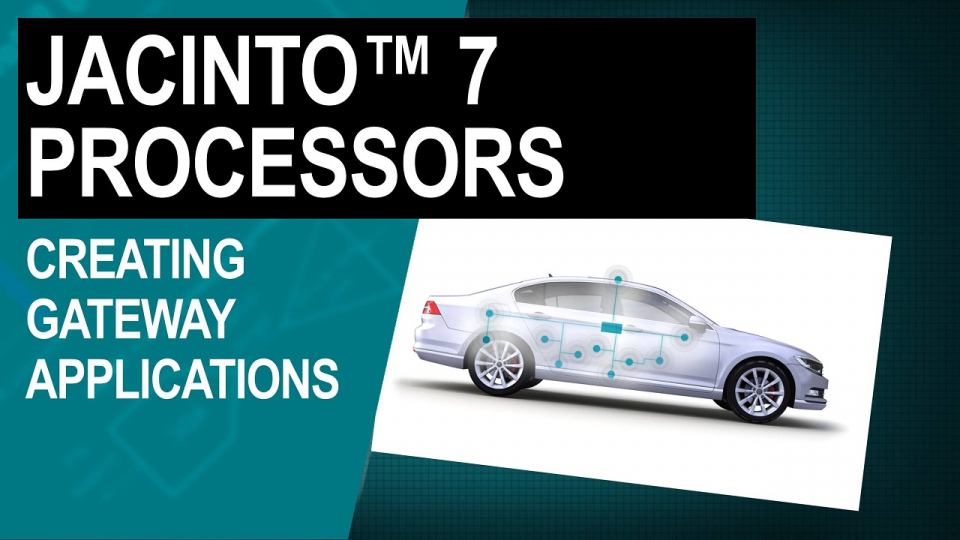 Creating Gateway applications with Processor SDK Automotive